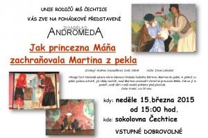 DIVADLO ANDROMEDA