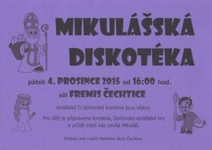 mikulášská diskotéka 2015